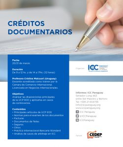 Curso de Créditos Documentarios