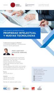 """Conferencia Inaugural del Diplomado Internacional """"Propiedad Intelectual y Nuevas Tecnologías"""""""