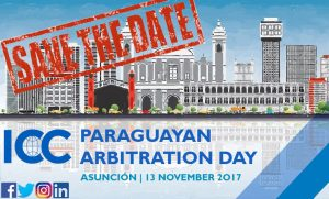 "Save the Date! – 13 de Noviembre – ""Paraguayan Arbitration Day"""
