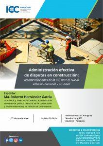 Administración efectiva de disputas en construcción