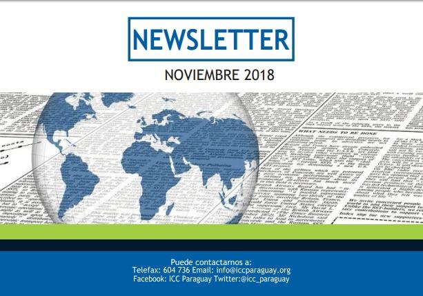 Newsletter – Noviembre 2018