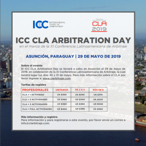 ICC CLA ARBITRATION DAY