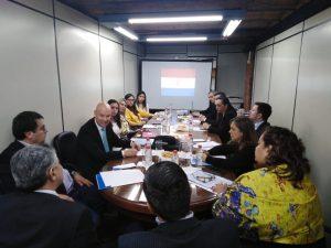 Reunion Anticorrupcion del Sector Privado y Publico