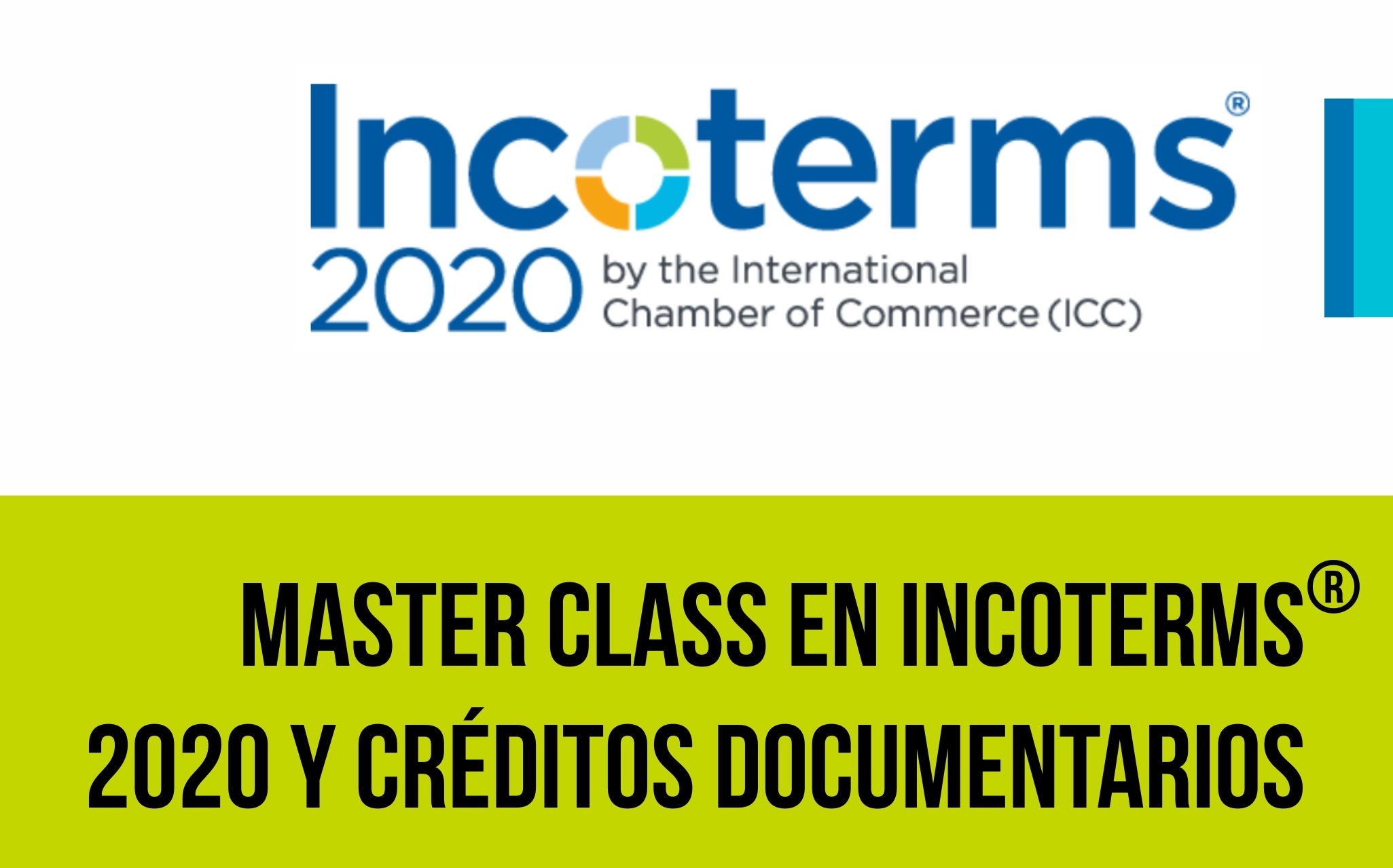 Masterclass en Incoterms®2020 y Creditos Documentarios