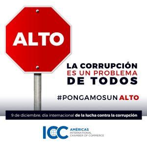 9 de diciembre se celebra el Día Internacional contra la Corrupción
