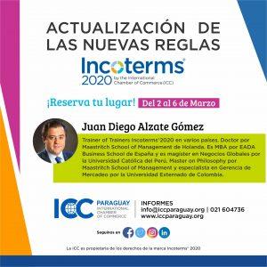 Actualización de las nuevas Reglas en Incoterms® 2020