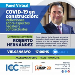 Panel virtual – COVID-19: Reflexiones sobre aspectos legales y contractuales