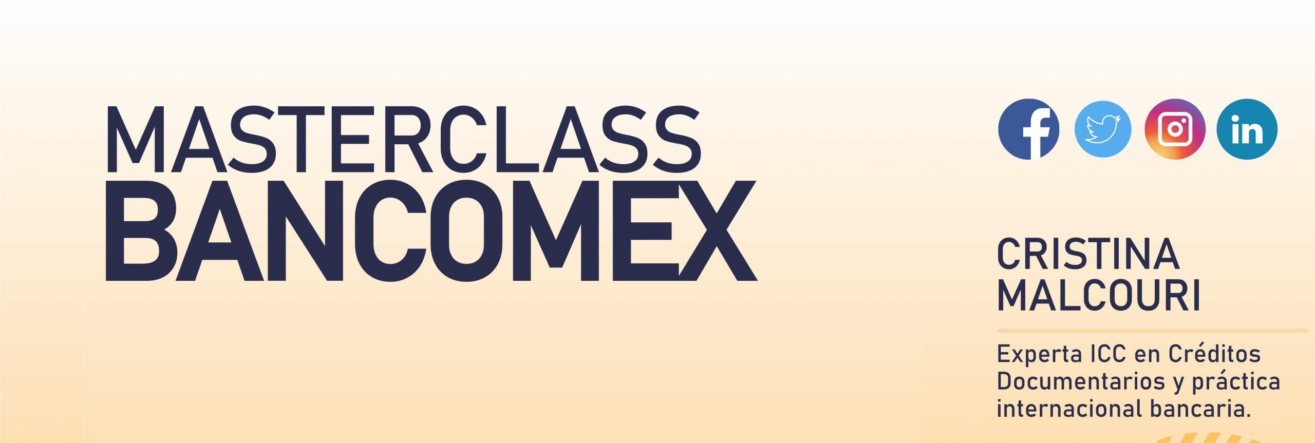 Masterclass BANCOMEX