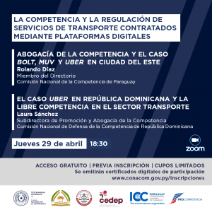 La competencia y la regulación de servicios de transporte contratados mediante plataformas digitales