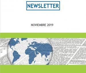 Newsletter – Noviembre 2019