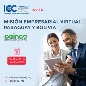 Rueda de Negocios Virtual 2021 Paraguay-Bolivia