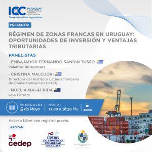Régimen de zonas francas y puertos libres en Uruguay